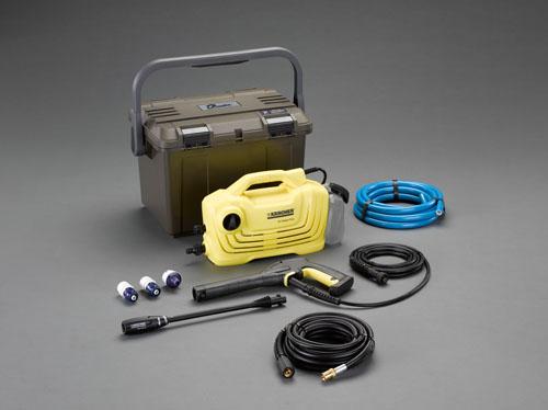 エスコ(ESCO) 高圧洗浄機(延長ホ-ス・ケース付) EA115KM-110B