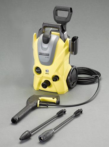 エスコ(ESCO) AC100V/1.30kW 高圧洗浄機(静音タイプ/50Hz) EA115KM-25B