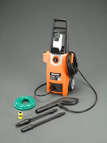 エスコ(ESCO) AC100V/1.3KW 高圧洗浄機(50Hz) EA115NA-1