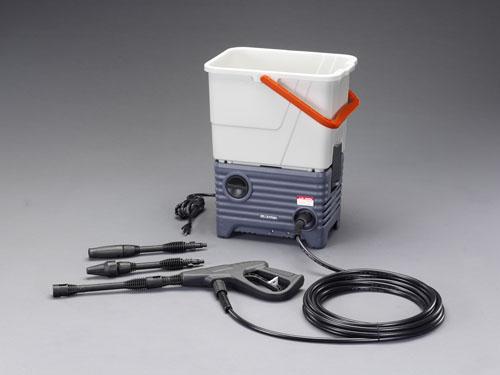 エスコ(ESCO) AC100V/1.0KW タンク付高圧洗浄機 EA115TA-1A