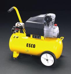 【直送】【代引不可】エスコ(ESCO) AC100V/1.50KW エアーコンプレッサー(タンク 30L) EA116SD