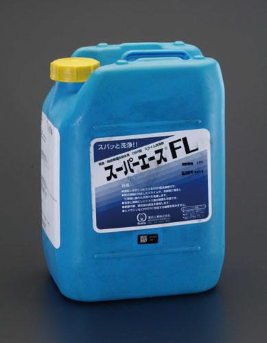 エスコ(ESCO) 10kg 冷却水回路洗浄剤(スーパーエースFL) EA119-5G