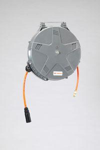エスコ(ESCO) 8.0mmx10m エアーホースリール(自動巻取) EA124BJ-6