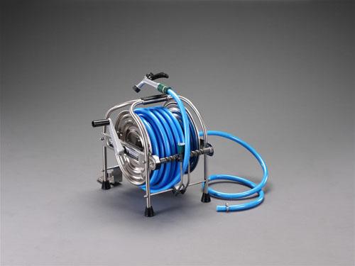 エスコ(ESCO) 15/20mmx20m 散水ホースリール EA124HB-20