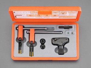 エスコ(ESCO) 8-16mm ねじ山修正ツールセット(内・外ねじ) EA603AC-50