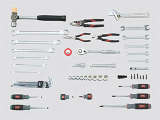 エスコ(ESCO) [52個組]工具セット EA612SB-39B
