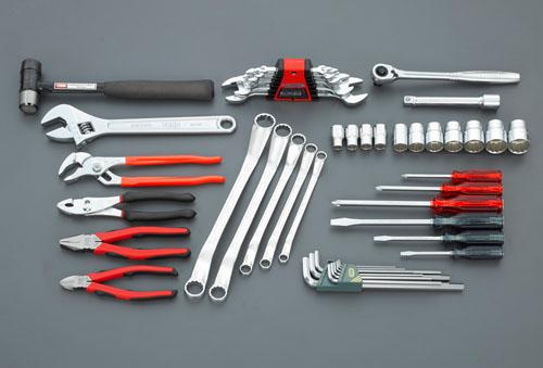 エスコ(ESCO) [45個組]工具セット EA612SC-26
