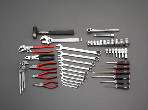 エスコ(ESCO) [52個組]工具セット EA612SC-38A