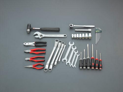 特価商品  エスコ(ESCO) [35個組]工具セット EA612SC-52, フクデチョウ 8754d38b