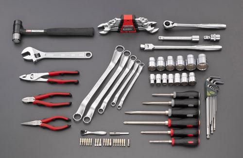 エスコ(ESCO) [71個組]工具セット EA612SC-57