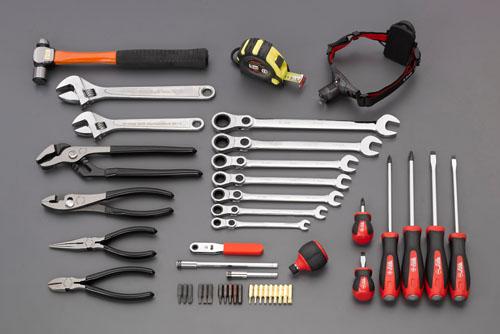 エスコ(ESCO) [46個組]工具セット EA612SF-11