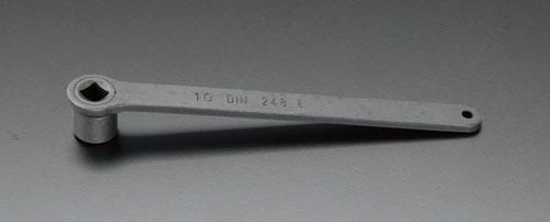 エスコ(ESCO) 22mm 四角ソケットスパナ EA613AH-22