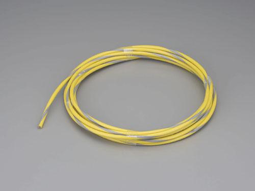 エスコ(ESCO) 4/6mmx50m ワイヤーロープ(スチール製・反射ビニールコート) EA628SP-50