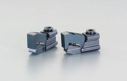 エスコ(ESCO) 呼14/1.5-13.5mm プルダウンクランプ(2個) EA637HB-14