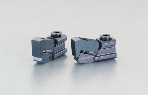 エスコ(ESCO) 呼16/2.5-17.0mm プルダウンクランプ(2個) EA637HB-16