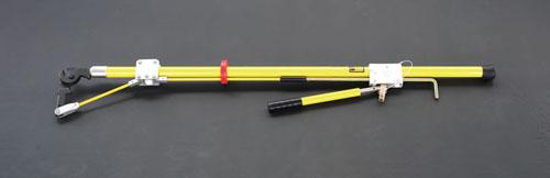 エスコ(ESCO) 50mm/2.4m ケーブルカッター(絶縁ラチェット式) EA640-12