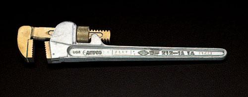 エスコ(ESCO) 38mm/350mm パイプレンチ(ノンスパーキング) EA642HA-14