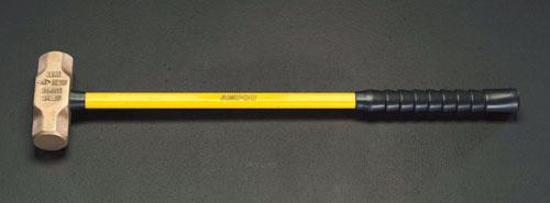 エスコ(ESCO) 6800g/69x840mm スレッジハンマー(ノンスパーキング) EA642KL-6