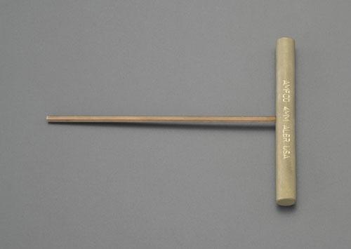 エスコ(ESCO) 8.0mm 六角棒レンチ/T型(ノンスパーキング) EA642LV-8
