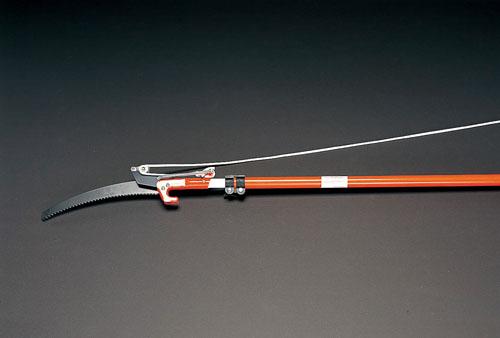 エスコ(ESCO) φ25mm/1.8-3.6m 高枝切(伸縮柄・400mm鋸刃) EA650AX-1