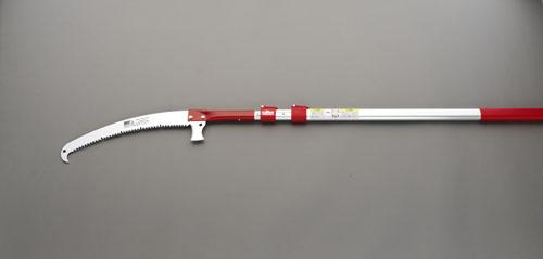 エスコ(ESCO) 1.92-3.8m 高枝鋸(伸縮柄・370mm鋸刃) EA650AX-150
