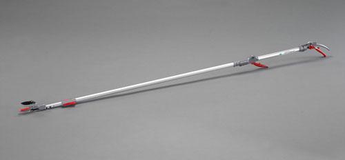 エスコ(ESCO) 1900-2880mm 伸縮式高枝鋏(ダブルグリップ式) EA650AX-43