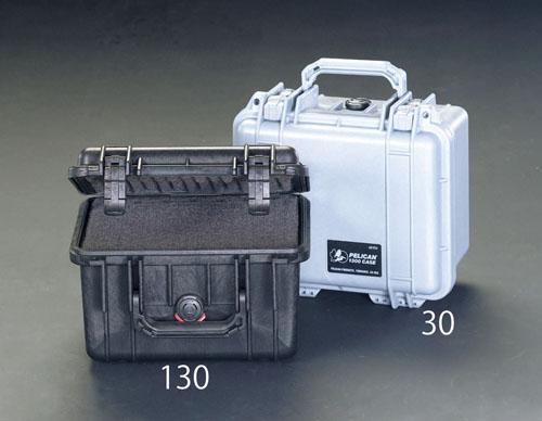 エスコ(ESCO) 233x178x155mm/内寸 万能防水ケース(黒) EA657-130