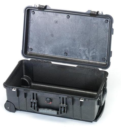 エスコ(ESCO) 517x392x229mm/内寸 防水ケース(黒/ウレタン無) EA657-156NF