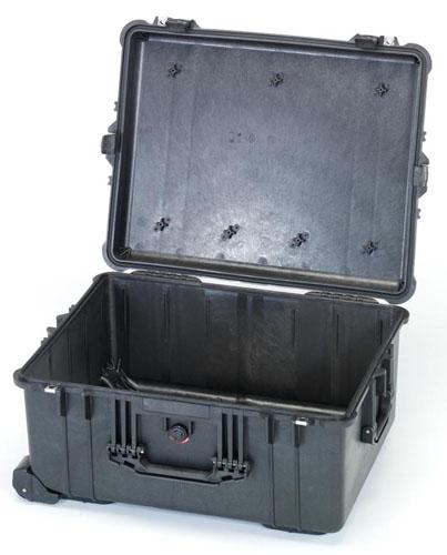 エスコ(ESCO) 543x414x319mm/内寸 防水ケース(黒/ウレタン無) EA657-162NF