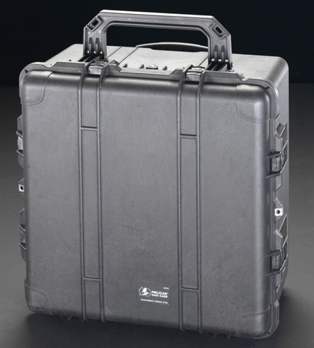 エスコ(ESCO) 602x609x353mm/内寸 万能防水ケース(黒) EA657-164