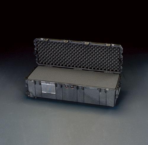 エスコ(ESCO) 1040x328x318mm/内寸 万能防水ケース(黒) EA657-174