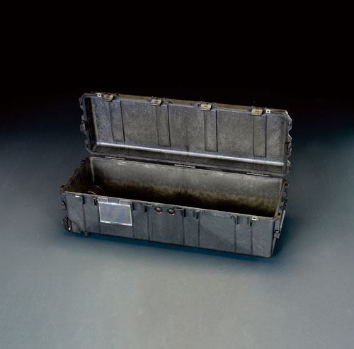 エスコ(ESCO) 1040x328x318mm/内寸 防水ケース(黒/ウレタン無) EA657-174NF