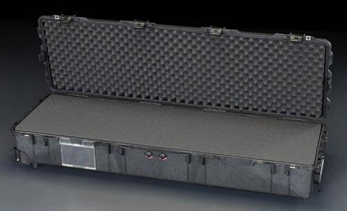 エスコ(ESCO) 1386x396x219mm/内寸 万能防水ケース(黒) EA657-177