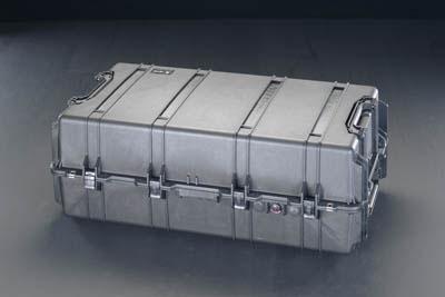 エスコ(ESCO) 1060x599x383mm/内寸 万能防水ケース(黒) EA657-178