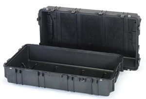 エスコ(ESCO) 1060x599x383mm/内寸 防水ケース(黒/ウレタン無) EA657-178NF