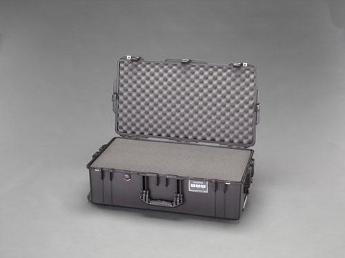 エスコ(ESCO) 752x394x238mm/内寸万能防水ケース(軽量型/黒) EA657-361