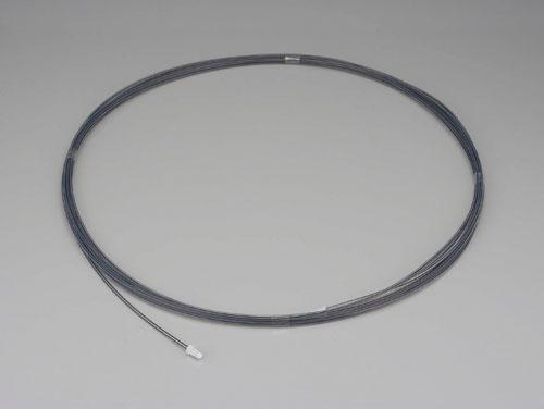 エスコ(ESCO) 4.0/6.0mmx10m フッ素樹脂チューブ(導電性) EA125FE-6