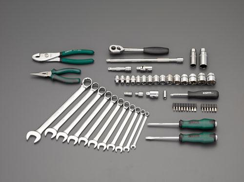 エスコ(ESCO) [56個組]工具セット EA689SC