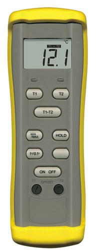 エスコ(ESCO)-50/1300゜C 熱電対デジタル温度計 EA701AB-10