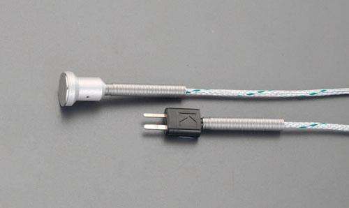エスコ(ESCO)-40/+400℃ 表面センサー(マグネット付) EA701BG-12