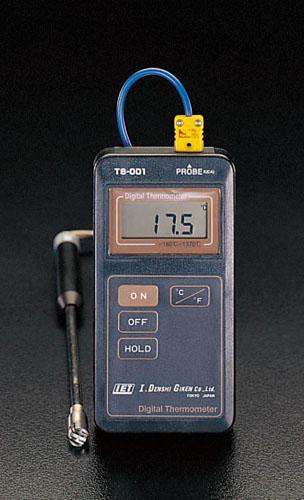 エスコ(ESCO)-100/+1000゜C デジタル温度計 EA701DA