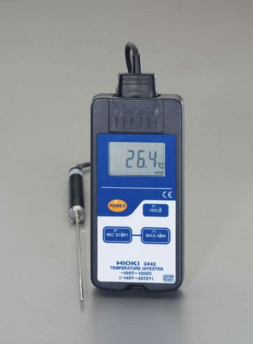 エスコ(ESCO)-100/+1300゜C デジタル温度計(防滴型) EA701HA-2