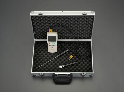 エスコ(ESCO) デジタル温度計セット(2点計測) EA701SG-22