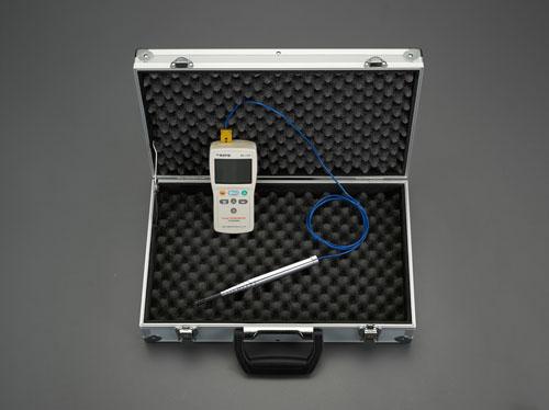 エスコ(ESCO) デジタル温度計セット(2点計測) EA701SG-24