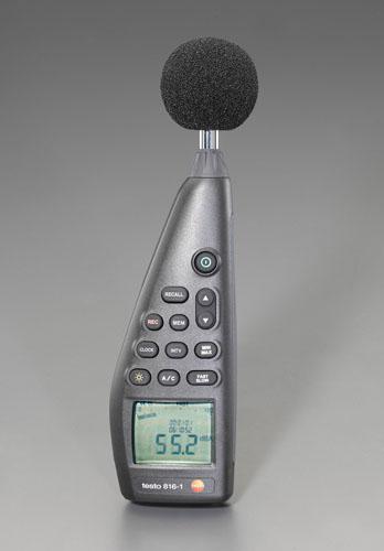 エスコ便利カタログNo.49:609P掲載 エスコ ESCO 定番 騒音データロガー EA706CD-2 予約
