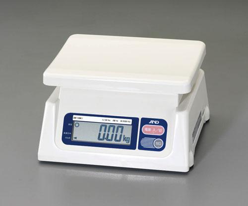 エスコ(ESCO) 10kg(10g) デジタルはかり(検定付) EA715DB-10A