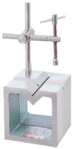 エスコ(ESCO) 125x125x125mm 桝形ブロック(V溝付) EA719DF-12