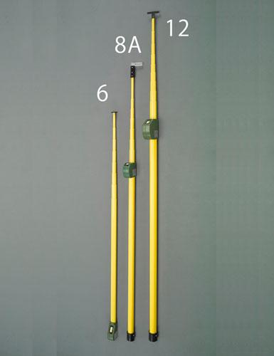 エスコ(ESCO) 6.0m メジャーポール(伸縮式) EA720M-6