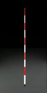 エスコ(ESCO) 2.0m 測量用伸縮ポール EA720MF-21