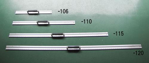 エスコ(ESCO) 2000mm カッター定規(取手付) EA720YW-120